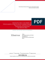 Distribución Geográfica y Ecológica de La Nutria de Río Neotropical (Lontra Longicaudis) en Michoacá