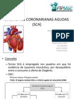Síndromes Coronarianas Agudas - Cardio