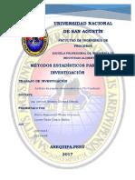 Análisis de Papers de Chi Cuadrado