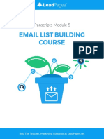 EmailListBuilding LeadPages Transcripts 05