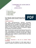 Segundo Gobierno de Alan Garcia Perez (1)