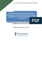 OBSERVACIÓN | Documento Informe Final Titulación Baldíos DNP