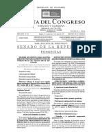 PONENCIA | Ponencia Segundo Debate Proyecto de Ley Innovación Agropecuaria
