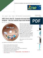 HBCD _ Hiren's Boot CD - Kumpulan Tool Untuk Teknisi Komputer - Bisa Boot Windows Tanpa Install Windows _ Free Tutorial