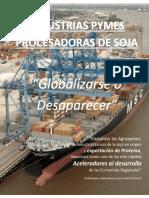Industrias PYMES procesadoras de soja Argentina