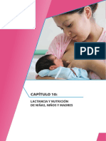 Lactancia y Nutricion de Niñas Niños y Madres