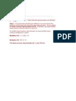 Adding Dissimilar Fractions