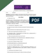 Evaluacion Final de Derecho Constitucional y Administrativo