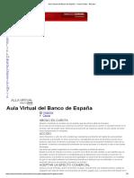 Banco de España - Glosario