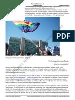 Crimenes de Odio Homofobia y Democracia