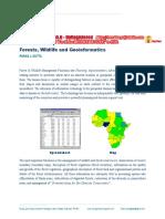 WildLife, Forestry & Geoinformatics