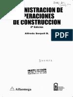 Administracion de Operaciones de Construccion