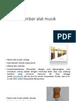 Gambar Alat Musik