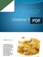 Comidas Tipicas Cusco