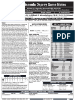 Game Notes Sample