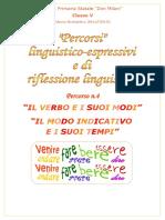 Il Verbo e i Suoi Modi Il Modo Indicativo e i Suoi Tempi PDF