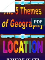 5 themes of geography- weebly