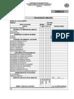 Formato 15 y 16 de Evaluacion Del Simulacro 19 de Septiembre de 2017