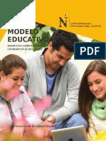 Modelo Educativo UPN BASADO EN COMPETENCIAS Y CENTRADO EN EL ESTUDIANTE