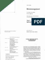 Metamanagement - Tomo 2 - Aplicaciones