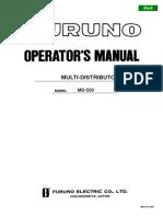 MD550 Operator's Manual B 1-11-07