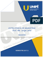Apostila de Marketing