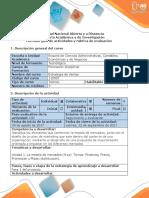 Guía de actividades y rúbrica de evaluación - Fase 2 - Analizar los componentes de la mezcla de mercadeo
