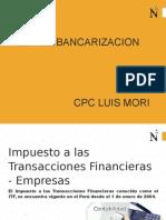Ppt Ley de Bancarizacion Upn 2017