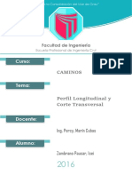 Informe Caminos XD