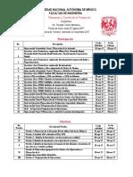 Asignaciones PCP 2018-1