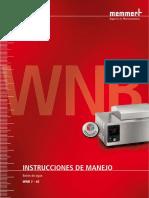 Baño Maria - WNB22 - MEMMERT - Manual de usuario