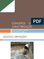 Dimensionamento rede coletora de esgoto - Aula 1
