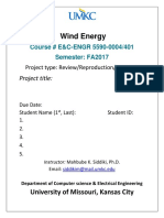 Cover Page Project-Energy