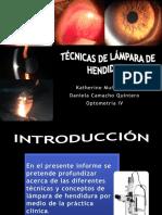 Técnicas de Lámpara de Hendidura Definitivo
