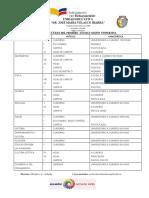 Lista de Útiles
