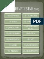 Menu Ppmp Maths Pmr 2009