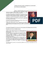 Quién Fue El Primer Presidente Del Perú