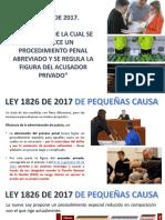 LEY 1826 DEL 2017