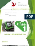 Introduccion a La Ingenieria Civil- Linea 1 Del Metro de Lima