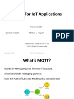 MQTT - White Paper Presentation