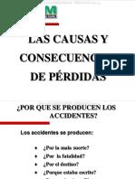 Curso Causas Consecuencias Perdidas Estudio Accidentes Causalidad Eventos Costos Trabajo Seguridad Control