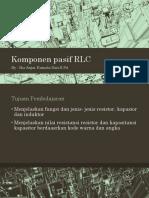 Komponen pasif RLC