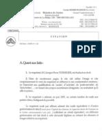 Citation de l'asbl RésistanceS.be et de son président, Manuel Abramowicz