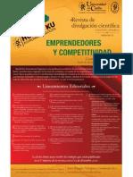 Emprendedores y Competitividad