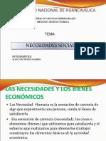 necesidades sociales economia