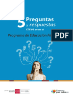 Plan de Educacion Financiera 2013-2017
