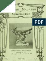 American Magazine of Aeronautics - July 1907