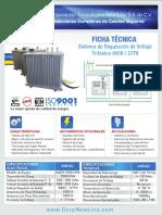 Regulador de Voltaje Industrial 1000KVA 480-277 V