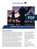 4140HW Alloy Steel Technical Data