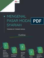 Modul TOT 1 - Mengenal Pasar Modal Syariah